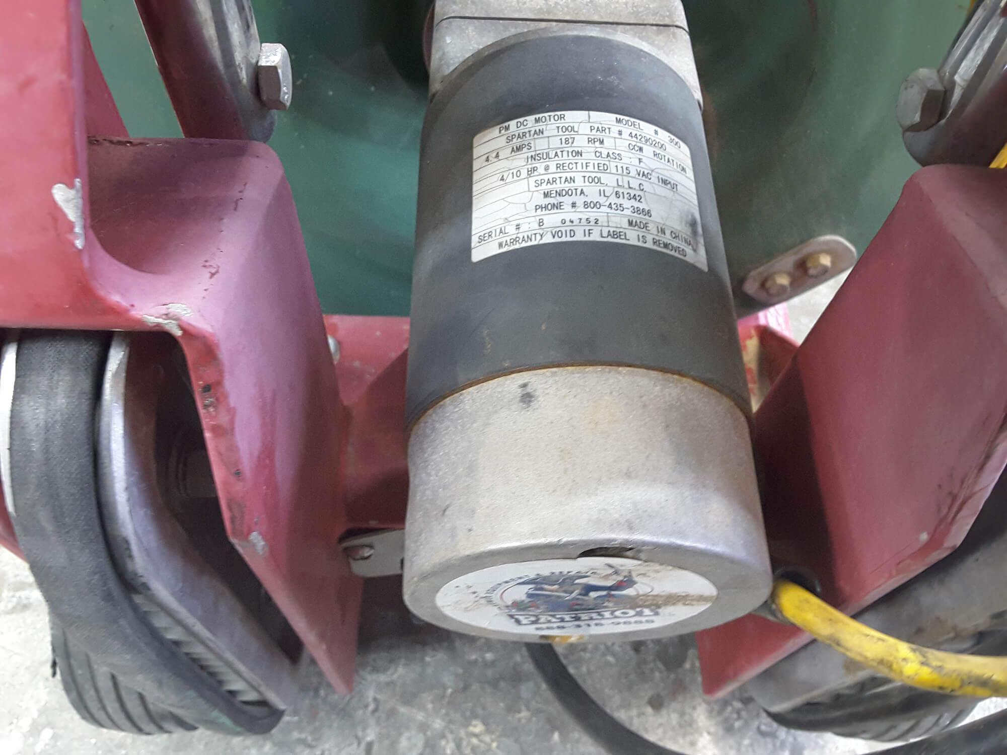 Drain Machine motor replacement - Drain Machine Service & Repair