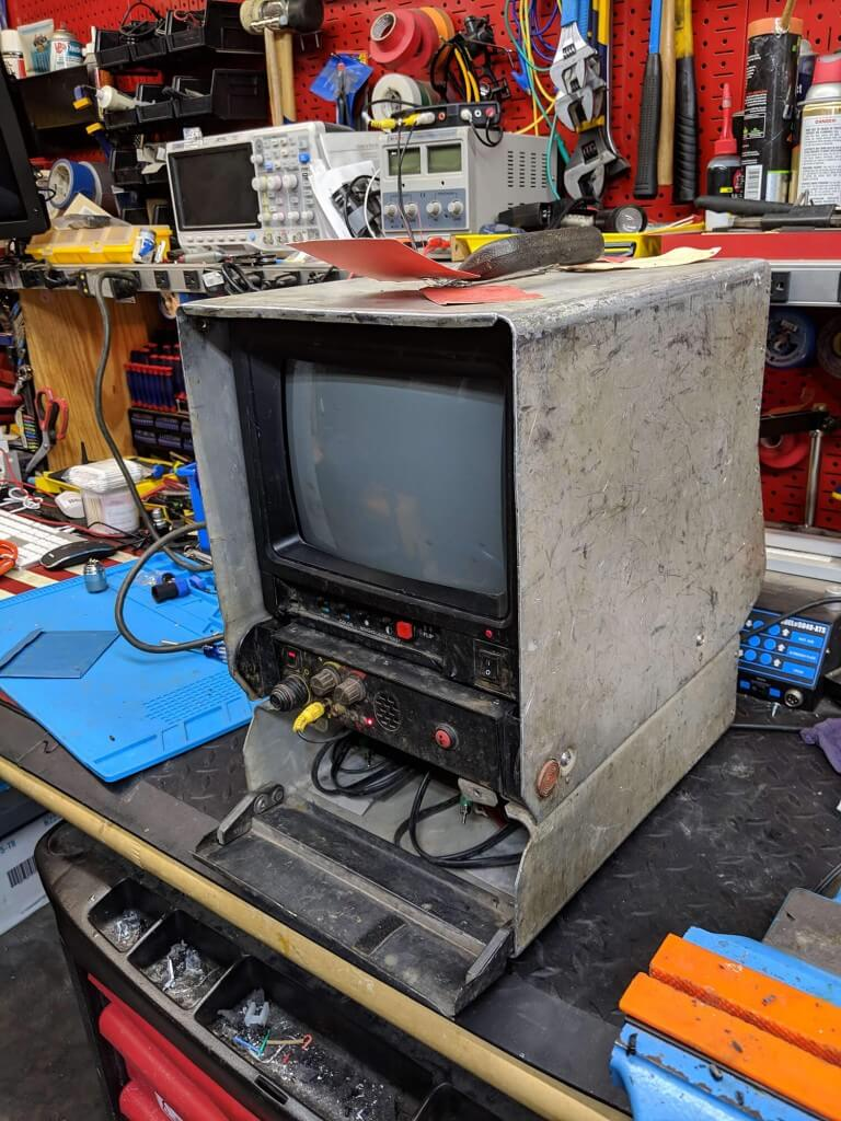 Ridgid VCR to USB Before 768x1024 - Sewer Monitor Restoration & Upgrades