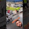 Patriot 1776 HD cleaning a storm drain in rain